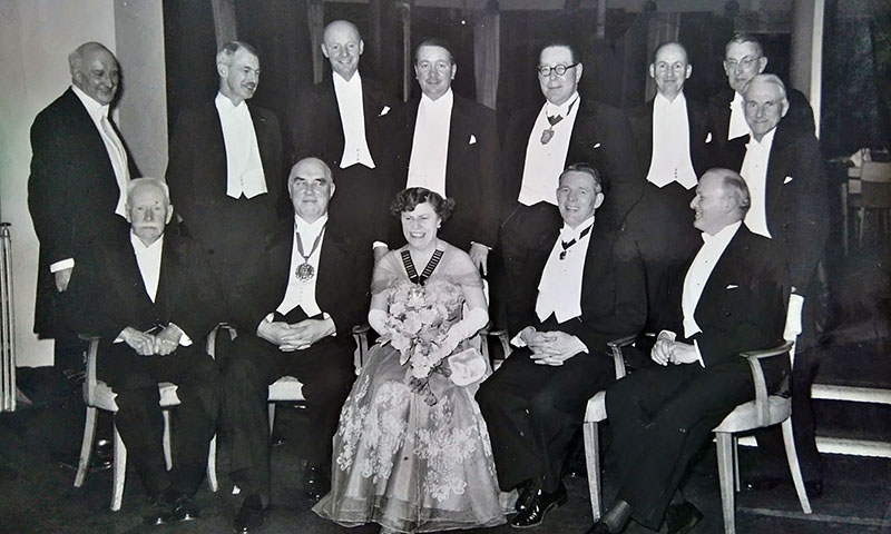 Hastings & District Law Society - Members of 1953